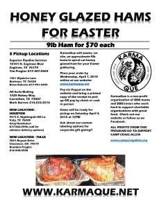 HAMS for Easter 2015