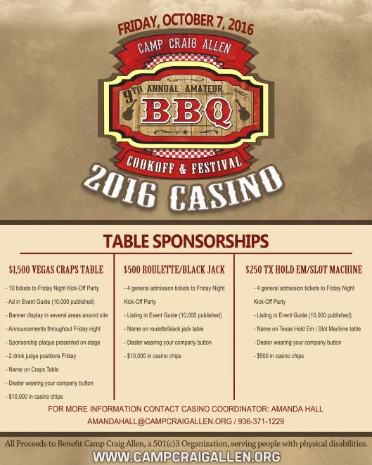 2016 Casino Flyer