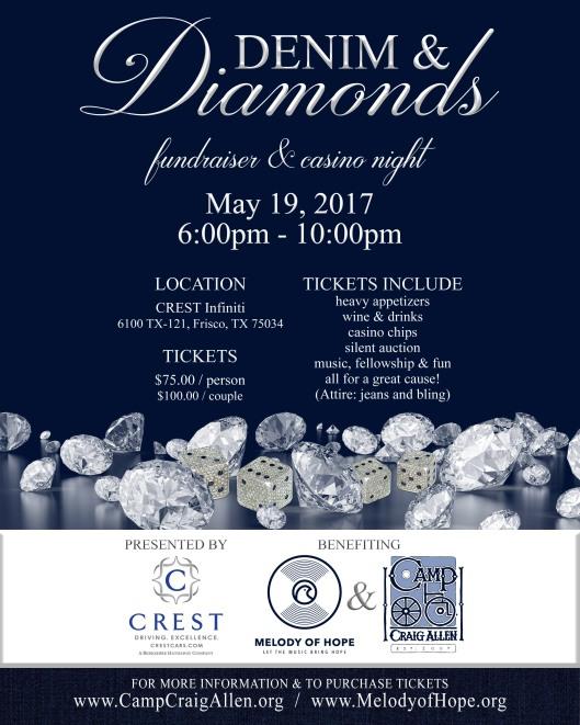 Denim & Diamonds flyer