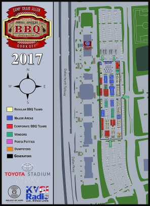 BBQ site map
