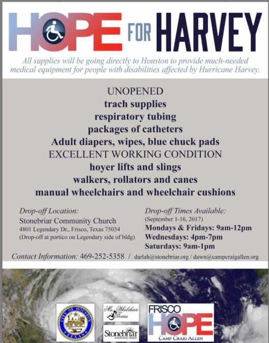 hope for Harvey
